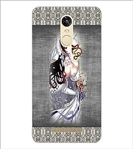 PrintDhaba Bold Animated Bride D-3566 Back Case Cover for XIAOMI REDMI NOTE 3 PRO (Multi-Coloured)