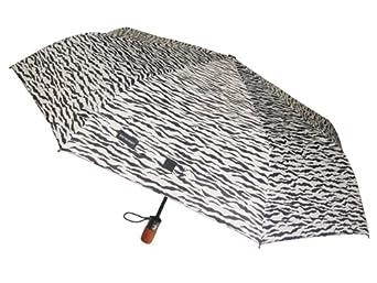 London Fog Zebra Auto Open/Close Umbrella