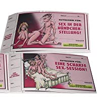 Gutscheinheft SEX GUTSCHEINE - 10x Spaß ...