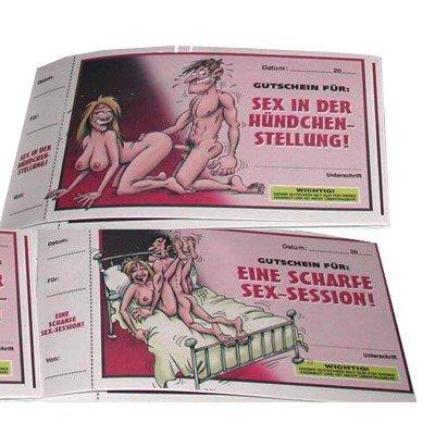 Gutscheinheft Sex-Gutscheine - 10x Spaß zu zweit!