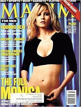 Maxim 2001 March - Monica Potter: Amazon.com: Books