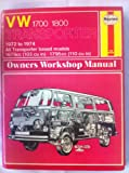 Volkswagen Transporter 1700/1800 1972-1974 Owner's Workshop Manual (0856962260) by Haynes, J. H.