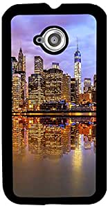 PrintVisa Travel City Back Cover for Motorola Moto E2- 2nd Gen. (2D-MME2-D8113)