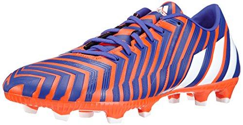 Adidas - Predator Absolado Instinct Fg, Scarpe Da Calcio da uomo, multicolore (solar red/ftwr white/night flash s15), 41 1/3