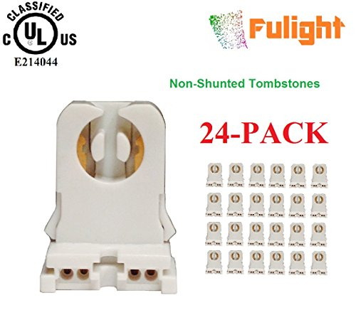 24-Pack of Fulight -UL Listed- Non-Shunted T8