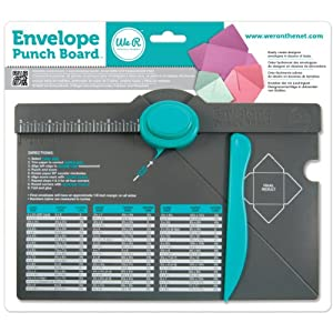 We R Memory Keepers Envelope Punch Board, Multi-Colour