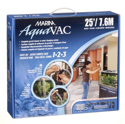 Marina 11040 Aqua Vac - Wasserwechselsystem und Kiesreiniger mit Schlauch 7.5 m