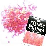 MystickFlakes オーロラピンク ミニハート 0.5g