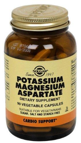 Solgar Potassium Magnésium aspartate capsules