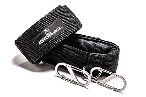 rubberbanditz-ankle-cuff-grips-and-carabiners-for-resistance-band-training-set-includes-2-black-ankl