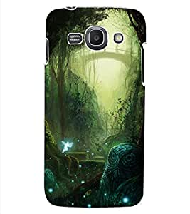 ColourCraft Forest Design Back Case Cover for SAMSUNG GALAXY ACE 3 3G S7270