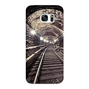 Tunnel Track Back Case Cover for Galaxy S7 Edge