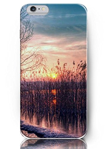 Sunset Scene - 5.5 Inch Iphone 6 Plus - Hard Snap On Plastic Case - Inspirational And Motivational Life Quotes front-217252