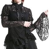 Camisa Negra Elegante - Tallas - XS