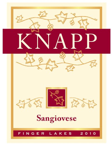 2012 Knapp Winery & Vineyard Cayuga Lake Sangiovese 750 Ml