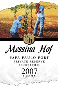 2010 Messina Hof Winery Papa Paulo Port Private Reserve 750 mL