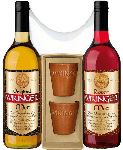 Doppel Wikinger Geschenkset - 1x 750ml Flasche