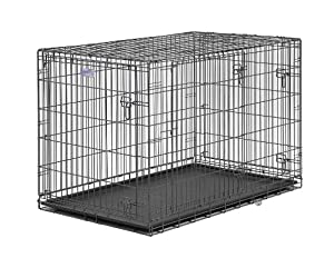 Midwest Select Triple-Door Dog Crate from Midwest Homes for Pets