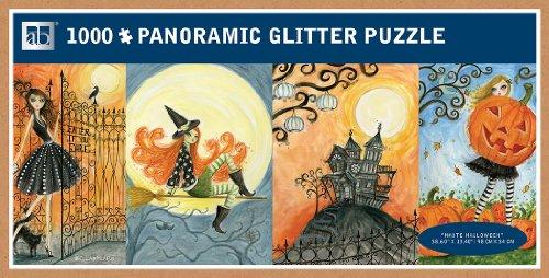 Andrews + Blaine Haute Halloween Panoramic Puzzle (1000-Piece)