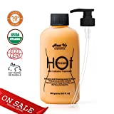 HeatUp Anti-Cellulite Hot Cream- Sooths, Relaxes and Tightens Skin with Warming Sensations, 100% Natural, Target Unwanted Fat Cells & Improve Skin Elasticity, Sooths Muscle Soreness & Joint Pain