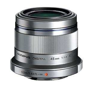 Olympus M. Zuiko Digital ED 45mm f/1.8 Lens for Micro Four Thirds Cameras