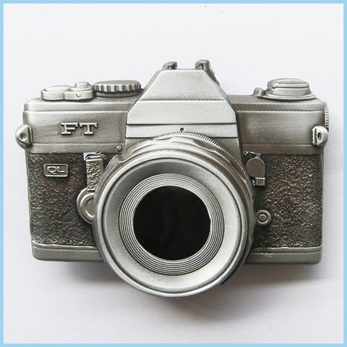 NEW CAMERA PHOTO PICTURE CLASSIC BELT BUCKLE