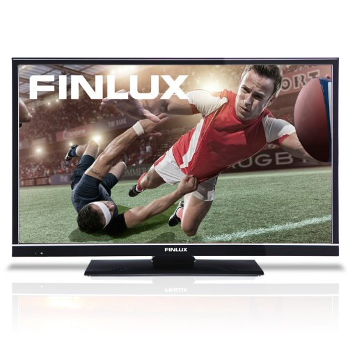 Image of Finlux 32H6072-D 32 Inch LED Widescreen HD Ready TV with Freeview & USB PVR Recording Black (2013 model)
