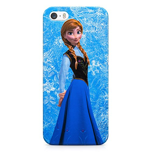 Frozen Anna Hard Plastic Snap Case Cover For iPhone 5 / iPhone 5s Custodia