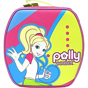 Polly Pocket Dazzlin Doll and Accessory Storage Case