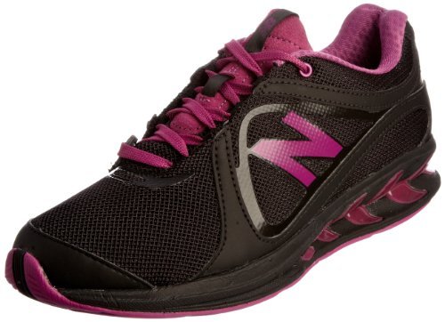 New Balance Women's Ww855Bp Black/Pink Trainer 7 UK, 9 US