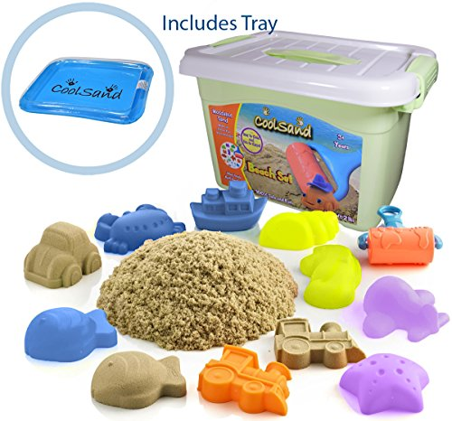 Cool Sand Deluxe Bucket With Inflatable Sandbox - Kinetic Sand For All Ages - 514 2BGjtYIBL - CoolSand Deluxe Bucket Kinetic Play Sand With Inflatable Sandbox