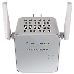 NETGEAR AC1200 WiFi Range Extender (EX6150-100NAS) (Renewed) (Color: white, Tamaño: AC1200)