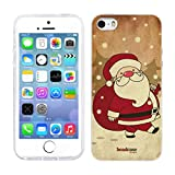 Head Case Designs Santa Claus Christmas Classics Gel Back Case Cover for Apple iPhone 5 5s