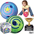Large Wiggly Giggly Ball by Toysmith (assorted colors, sold individually) from Toysmith