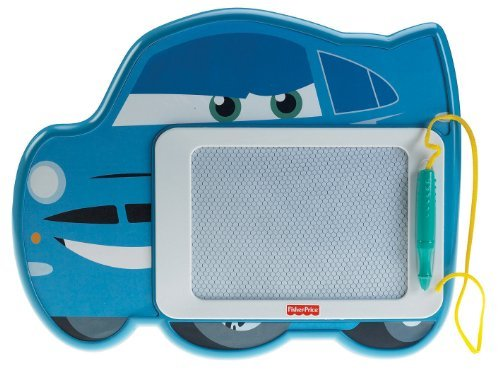 Mess-Free Creative Drawing Fun With A Cars 2 Friend! - Fisher-Price Kid-Tough Doodler Disney/Pixar Cars 2 McMissile Doodle Pad
