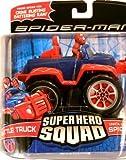 Spider-Man Hasbro Super Hero Squad Vehicle Battle Truck with Spider-Man