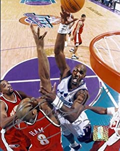Karl Malone Autographed Hand Signed Utah Jazz 8x10 Photo by Real Deal Memorabilia