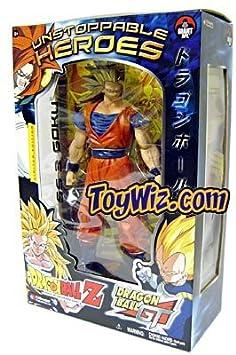 "Dragon Ball Z Jakks Series 7 Unstoppable Heroes-9"" Super SS3 Goku"