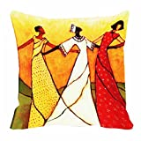 meSleep 3 dancers 3D Cushion Cover (16x16)