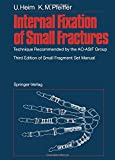 img - for Internal Fixation of Small Fractures: Technique Recommended by the AO-ASIF Group book / textbook / text book