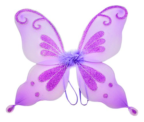 Purple Butterfly & Fairy Costume Wings for Girls.