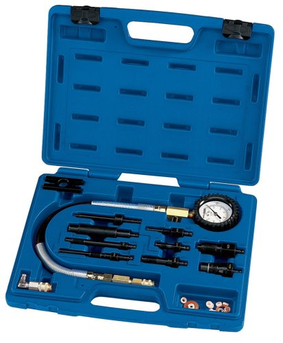 Draper Expert 43052 12-Piece Diesel Car Engine Compression Test Kit