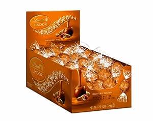 Lindt LINDOR Peanut Butter Milk Chocolate Truffles, 60 Count Box