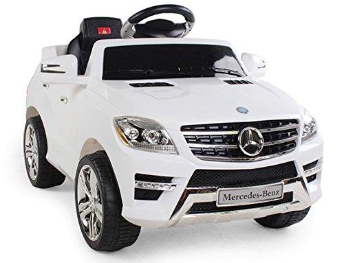 auto-elettrica-per-bambini-6v-con-telecomando-mercedes-benz-ml-350-suv-bianca