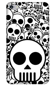 iessential skull Designer Printed Back Case Cover for Apple iPhone 6