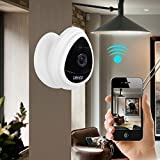 Portable Mini IP Camera, Uokoo 1280x720p Home Surveillance Camera Wireless IP Camera With Built In Microphone WiFi Security Camera, Baby Video Monitor Nanny Cam,Motion Detection