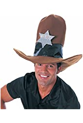 Rubie's Costume Co Brn Oversize Cowboy Hat Costume