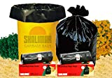 Shalimar Virgin Garbage Bags (Large) Size 60 cm x 81 cm 6 Rolls (90 Bags) (Trash Bag/ Dustbin Bag)