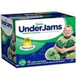Pampers Underjams Bedtime Underwear Boys, Large/X-Large Diapers, 42 Count