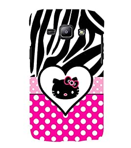 Cute Girly Love 3D Hard Polycarbonate Designer Back Case Cover for Samsung Galaxy J2 (2015) :: Samsung Galaxy J2 J200F
